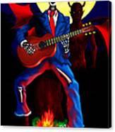 Guitar Man Upstairs Canvas Print
