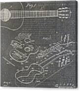 Guitar Patent Canvas Print