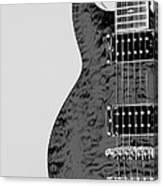 Guitar Pic 2 Canvas Print