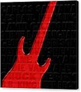 Guitar Players 1 Canvas Print
