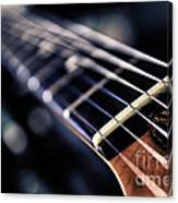 Guitar Strings Canvas Print