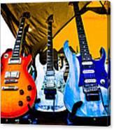 Guitar Trio Canvas Print