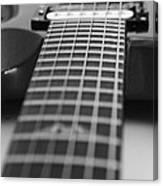 Guitar View Canvas Print