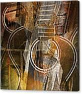 Guitar Works Canvas Print