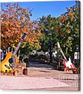 Guitars At The Grand Old Opry Canvas Print