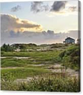 Gulf Coast Galveston Tx Canvas Print