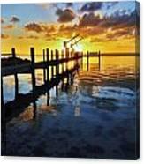 Gulf Coast Sunset Canvas Print