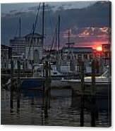 Gulfport Sunset Canvas Print