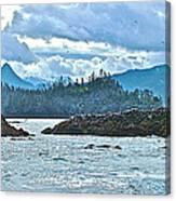 Gull Island Rookeries In Kachemak Bay-alaska Canvas Print