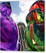 Gummy Bears In Paris Canvas Print