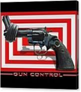 Gun Control Canvas Print