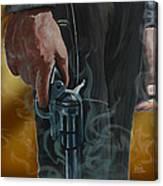 Gunfighter Canvas Print