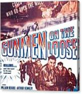 Gunmen On The Loose, Us Poster, William Canvas Print