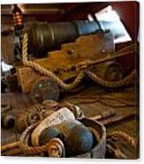 Gunnery Port Canvas Print