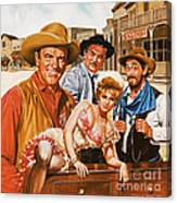 Gunsmoke Canvas Print