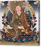 Guru Rinpoche Thangka Art Canvas Canvas Print