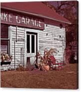 Gus Klenke Garage Canvas Print