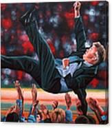 Guus Hiddink Canvas Print