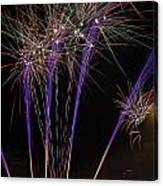 Guy Fawkes Night At Gloucester Quay Canvas Print
