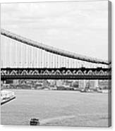 Manhattan Bridge Span Canvas Print