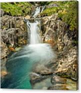 Gwynant Waterfall Canvas Print