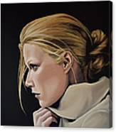 Gwyneth Paltrow Painting Canvas Print