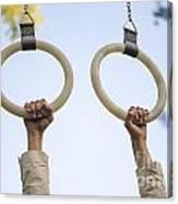 Gymnastic Rings Canvas Print