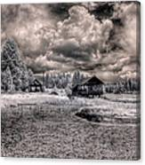 Gypsy Bay Road Lumber Mill 1 Canvas Print