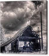 Gypsy Bay Road Lumber Mill 3 Canvas Print