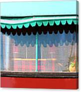 Gypsy Caravan Palm Springs Canvas Print