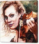 Gypsy In My Soul Canvas Print