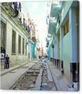 Habana Street Canvas Print