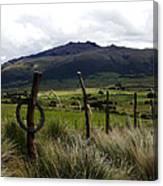 Hacienda El Porvenir Ranch View Canvas Print