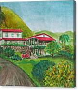 Hacienda Gripinas Old Coffee Plantation Canvas Print