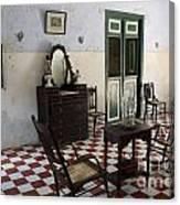 Hacienda Room Yaxcopoil Mexico Canvas Print