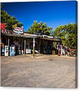 Hackberry General Store Canvas Print
