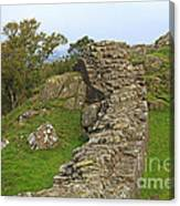 Hadrian's Wall Near Walltown Quarry Canvas Print