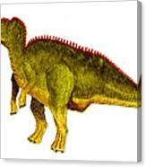 Hadrosaurus Canvas Print