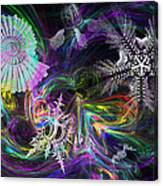 Haeckel Sea Canvas Print