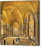 Haghia Sophia, Plate 12 The Meme Canvas Print