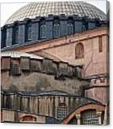 Hagia Sofia Close Up Canvas Print