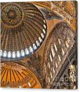 Hagia Sofia Interior 04 Canvas Print