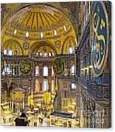 Hagia Sofia Interior 17 Canvas Print