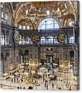 Hagia Sofia Interior 42 Canvas Print