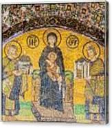 Hagia Sofia Mosaic 03 Canvas Print