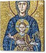 Hagia Sofia Mosaic 05 Canvas Print