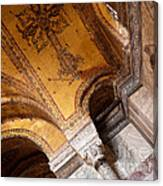 Hagia Sophia Arch Mosaics Canvas Print