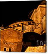 Hagia Sophia At Night Canvas Print