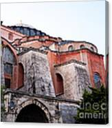 Hagia Sophia Buttresses Canvas Print