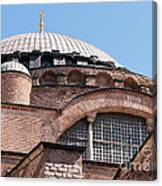 Hagia Sophia Curves 01 Canvas Print